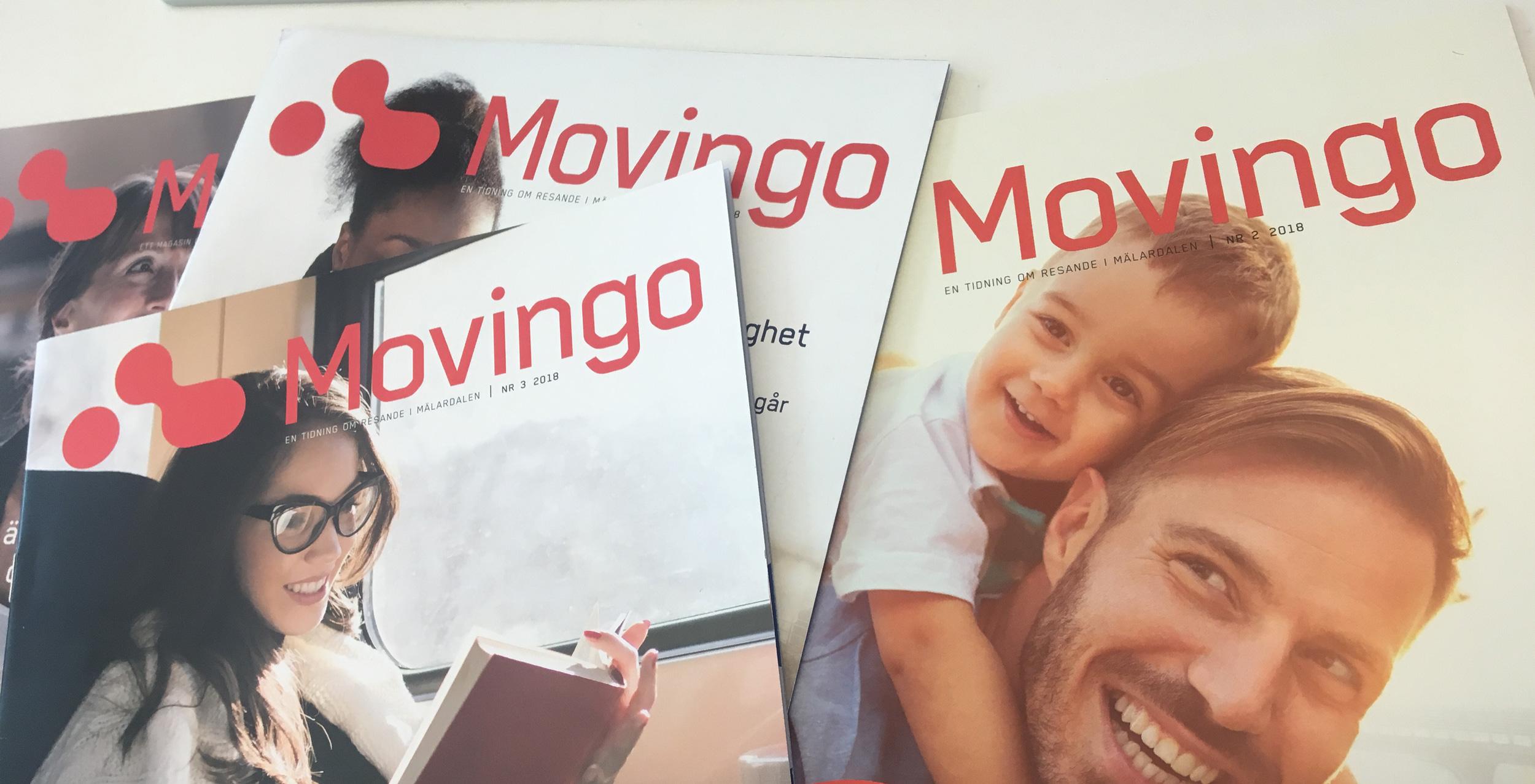 Movingo kundtidning - omslag 2018
