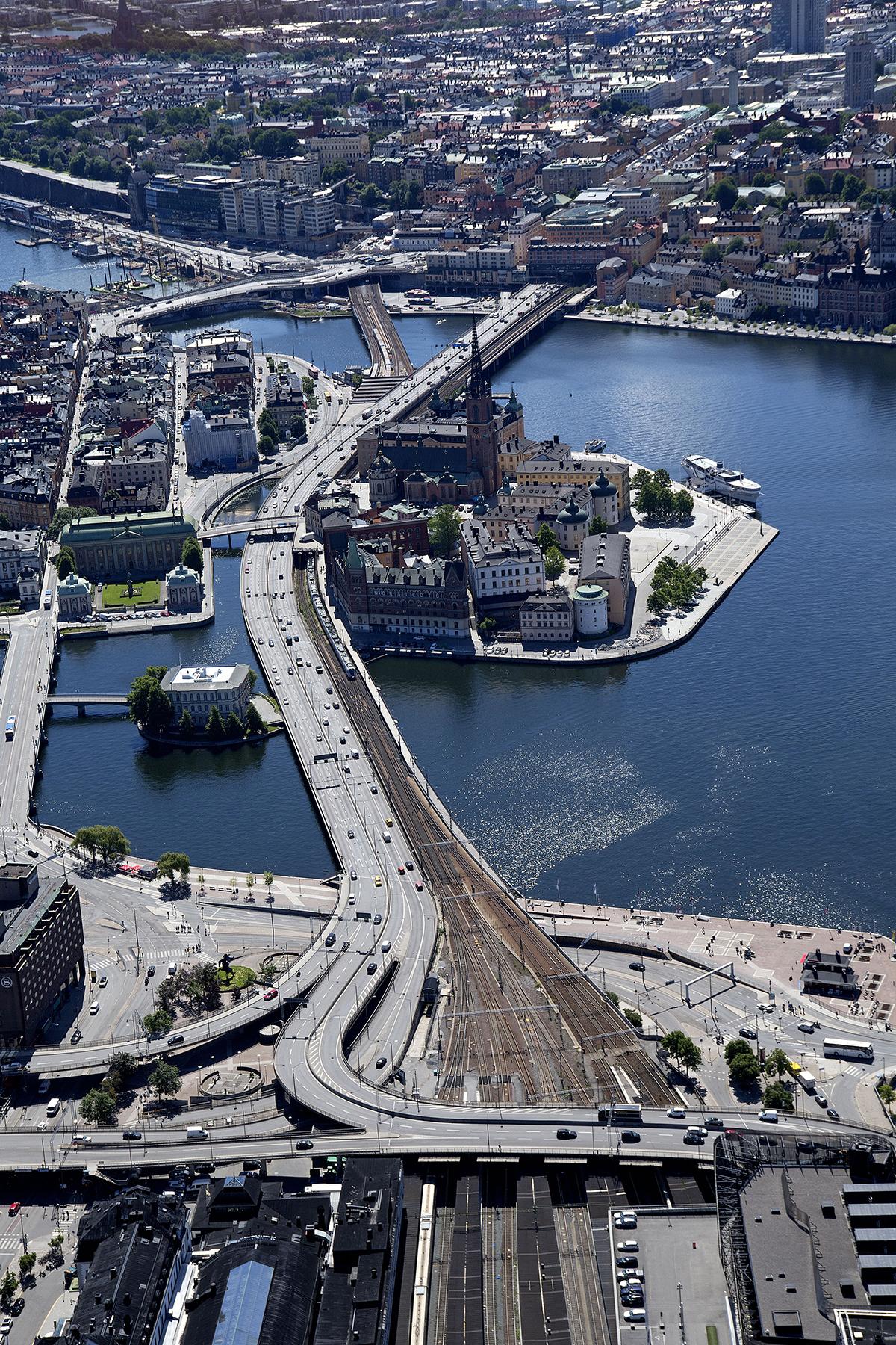 Getingmidjan i Stockholm avstängd